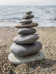#23 Stack (116 Pictures In 2016) (kazmorris) Tags: beach stones stack balance 116picturesin2016