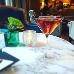 Manhattan at The Westbury Hotel Lounge (VProcunier) Tags: drink manhattan lounge westburyhotel