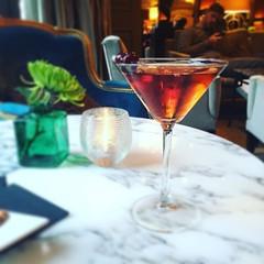 Manhattan at The Westbury Hotel Lounge (VProcunier) Tags: drink manhattan lounge westburyhotel