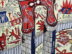GRAYSON PERRY (streamer020nl) Tags: nyc england holland art netherlands museum maastricht artist kunst 911 nederland grayson twintowers british wtc perry pentagon tapestry limburg niederlande engels nineeleven bonnefantenmuseum 2016 210416 9sept2001