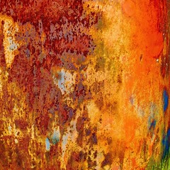 Abstract (StephenReed) Tags: abstract art metal square rust paint abstractart mold chippedpaint stephenreed nikond3300