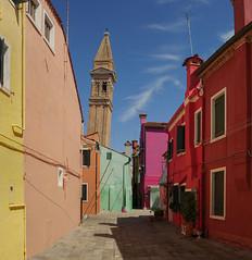 Campanile of San Martino (Doctor Syntax) Tags: venice burano
