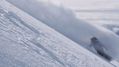 Snow GIF - Find & Share on GIPHY (messiole) Tags: snow mountains snowboarding back country full part snowboard snowboarder enni ifttt rukajarvi giphy