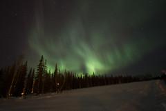 Finlandia serata di magie (maurobrock) Tags: lapland finlandia ghiaccio luosto circolopolareartico auroraboreale maurobrock