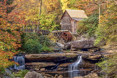 Glade Creek Grist Mill (K Juhl) Tags: camping fall westvirginia babcockstatepark 2015 architecturelandscapes