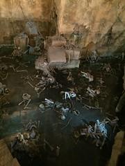 Tokyo DisneySea (jericl cat) Tags: disneysea river lost temple tokyo interior delta disney adventure queue mayan skeletons indianajones 2015 crystalskull
