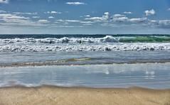 ocan ii (alouest225) Tags: ocean sea mer seascape beach landscape sand waves sony paysage vagues hdr atlantique aquitaine gironde lasalie rx100m3