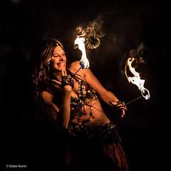 IMG_8314-Modifier (DidierBonin) Tags: street woman girl canon fire pretty artist flame burn rue feu bcc palaisdetokyo charme artiste