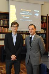 I vincitori del Premio Lagrange Fondazione CRT 2015 1 Jure Leskovec e Ipeirotis Panos
