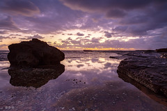 Sunrise over Turimetta (vito_ricapito) Tags: sunrise focus beaches northern vito turimetta ricapito