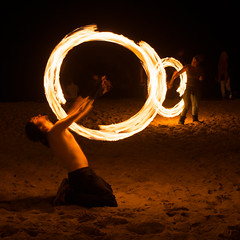 (Attila Pasek) Tags: show night fire free poi shape attraction firepoi longexposuretime boscombepier firejam logibenedictson
