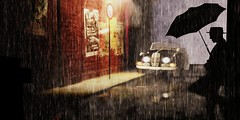 rain (Yann Whoa) Tags: rain umbrella secondlife whoa pino yann