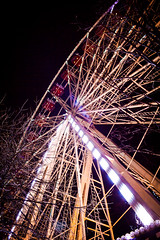 Ferris Wheel 2 (HarveyNewman) Tags: night canon scotland colorful edinburgh time fireworks mark iii scottish ferris newyear celebration hogmanay scotish 2015
