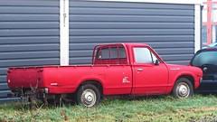 Datsun 1500 Pickup (vwcorrado89) Tags: red up truck nissan pickup ute pick 1500 datsun