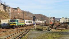 NMBS 2738  Engis (Tren di Cdrico) Tags: train ic belgium belgique belgi newlook alstom 27 m4 trein intercity ligne 125 bombardier nmbs sncb 2738 spoorlijn t27 hle engis l125
