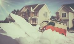 ................ (Just lovin' it) Tags: snow bus toy volks