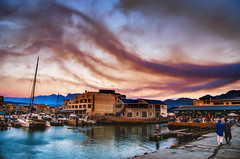Smoky sunset at Gordons Bay (WelshPixie) Tags: africa fire town south capetown cape elgin westerncape grabouw houwhoek houhoek houhoekpass elginfire
