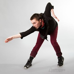Mackenzie (austinspace) Tags: portrait woman yoga hair washington model spokane dancer short expressive alienbees