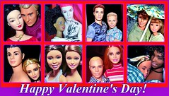 Happy Valentine's Day! (farmspeedracer) Tags: summer woman man men love sex naked nude toy bed women friend scenery couple doll day femme ken barbie skipper valentine romance celebration hombre collector homme
