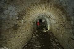 Passage souterrain - Fort  Rolland d'Arguel (francky25) Tags: fort fortification passage rolland franchecomt militaire souterrain doubs darguel