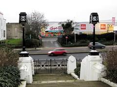 Firestone entrance (moley75) Tags: building london artdeco firestone evidence a4 westlondon brentford goldenmile greatwestroad