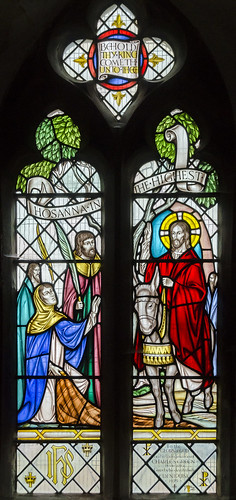 Metheringham, St Wilfred's church window