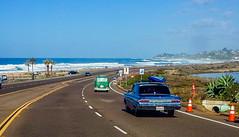 Live the life you love! (boobie40) Tags: ocean beach car g roadtrip pacificocean americana classiccars