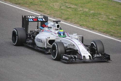 Felipe Mass in Formula One Winter Testing 2016