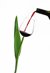 . (Lorraine1234) Tags: glass wine tulip photoediting wineglass