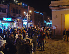 Marrakech by night (nisudapi) Tags: night morocco marrakech marrakesh oldcity 2015 djemaaelfna