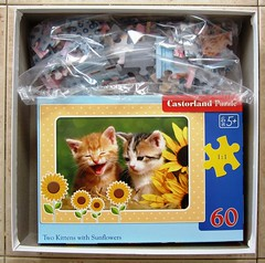 Kittens (3 in 1) (Leonisha) Tags: kittens puzzle jigsawpuzzle puzzlebox puzzleschachtel