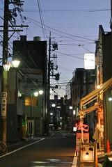 nagoya14653 (tanayan) Tags: road street urban japan night shopping evening town alley nikon cityscape view osu nagoya   aichi j1