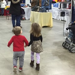 "Paul and Inde Hold Hands at the Train Expo • <a style=""font-size:0.8em;"" href=""http://www.flickr.com/photos/109120354@N07/24707025222/"" target=""_blank"">View on Flickr</a>"