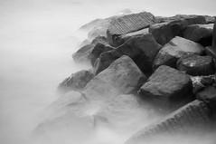 Southwold 1 (Broadologie) Tags: longexposure sea blackandwhite beach suffolk nikon southwold groins d300s