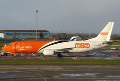OO-TNO (GH@BHD) Tags: aircraft aviation cargo tay boeing tnt airliner 737 freighter aldergrove b737 bfs belfastinternationalairport tntairways ootno