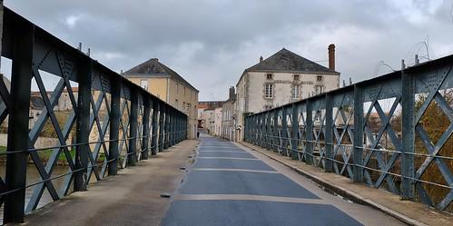 Saint Laurent sur Sevre, pont Gustave Eiffel