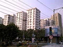 Kolkata 57 - Avishikta 2, residential complex (juggadery) Tags: urban india building architecture highrise residential bengal apartmentbuilding condominium mdu towerblock multistorey westbengal 2015 blockofflats buildingcomplex puccahouse multidwellingunit