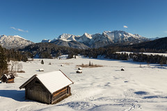 IMG_0658 (ad.schil) Tags: blue winter lake snow mountains alps bayern bavaria frozen geroldsee