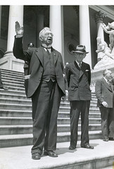 Coxey gives his full speech at the Capitol building: 1944 (washington_area_spark) Tags: army march living dc washington general jacob protest s demonstration bonds speech unemployed banks arrest jobless wage 1894 loans coxey