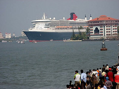 queen-mary-2-at cochin kochi03 (Mobile/WhatsApp:00919495509009) Tags: