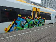LIST (mkorsakov) Tags: train graffiti zug bahnhof list colored hbf dortmund bunt oms rb59
