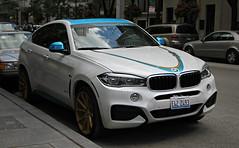 Viga Design BMW X6 (RudeDude2140a) Tags: blue white sports car design bmw viga suv x6