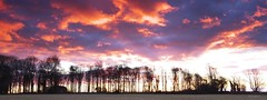 Dawn fire (gregoryphoto150) Tags: winter sky cloud cold color colour colors clouds rural sunrise landscape dawn frost colours outdoor cotswolds gloucestershire