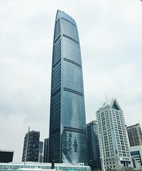 Shenzhen's second tallest building, the KK100 (raspyrose_) Tags: china building tower architecture peak architect guangdong shenzhen tallestbuilding kk100 kingkeyfinancetower