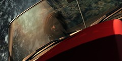 Car Crash Series (Carla Putnam) Tags: auto loss car racetrack race automobile control crash accident sl secondlife vehicle spike wreck rp wreckage lag highspeed roleplay racin