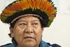 Reunião com Davi Kopenawa - Apresentação do diagnóstico sobre contaminação por mercúrio dos índios Yanomami e Yekwana proveniente de atividade garimpeira de ouro (Secretaria Especial de Saúde Indígena (Sesai)) Tags: brasília 2016 março reunião davikopenawa secretário antônioalves yanomami