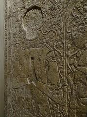 ca. 1352 - 'Pierre de Chantemelle, chevalier, Seigneur de Flavacourt (+1352) and Isabelle d'Argenlieu (Hargenlieu)', Chapelle Sainte-Anne, Flavacourt, dp. Oise, Muse de Cluny, Paris, France (roelipilami) Tags: paris church monument st museum de anne chains sainte mail pierre incised chapel lord muse isabelle knight isabel standard chevalier ste sire chapelle misericorde dalle cluny slab parigi ritter funraire tombeau seigneur grabmal oise grafsteen tombale 1352 couter poleyn chantemelle coatofplates argenlieu flavacourt plattenrock mamelieres hargenlieu