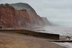 Sidmouth (B Gibbens) Tags: cliff mist water coast nikon rocks sigma sidmouth 18250 d3200 sigma18250