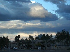 Cloudy day in Tempe (just me julie) Tags: arizona sky cloud clouds az tempe cloudyday