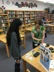 Makerspace Monday Outreach @ Williams High School 3/14/16 (plano.library) Tags: makerspacemonday williamshighschool williams highschool plano parr davis schimelpfenig library libraries libraryprogram outreach 3dprinting littlebits cubelets finchrobot gizmosgadgets pisd teens harringtonlibrary haggardlibrary planopubliclibrary